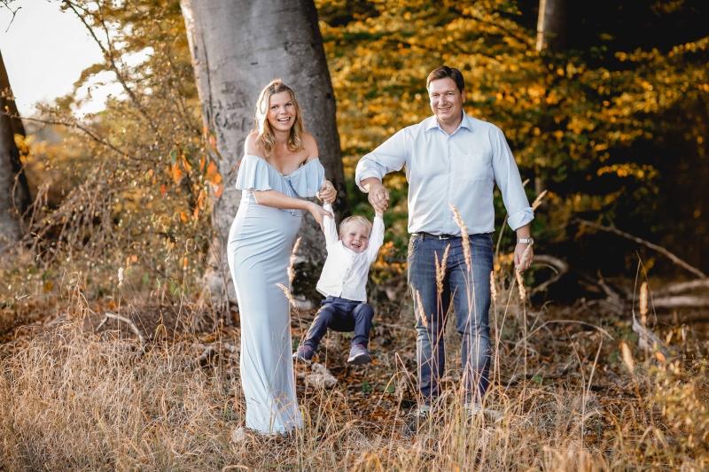 Familienbilder Babybauch Shooting